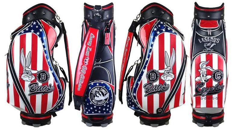 ルーニーテューンズ ゴルフコレクション LTCM901 キャディバッグ ワーナーブラザ LOONEY TUNES GOLF