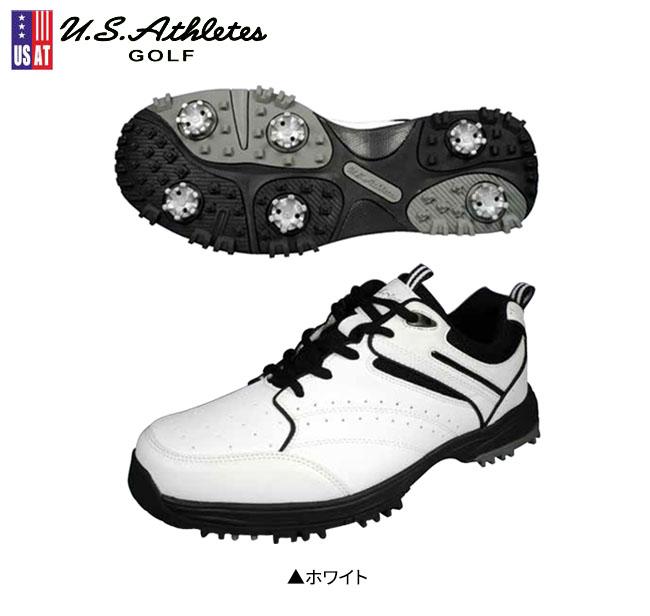 U.Sアスリートス 4Eゴルフシューズ