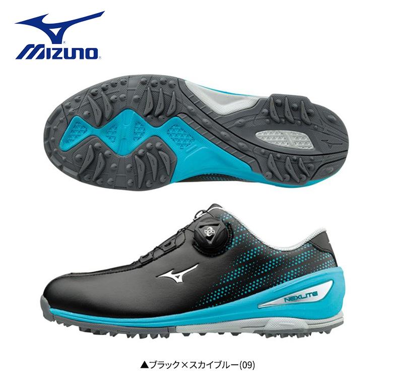 レディース ミズノ ゴルフ ネクスライト004 ボア 51GW1720 ゴルフシューズ MIZUNO GOLF NEXLITE Boa