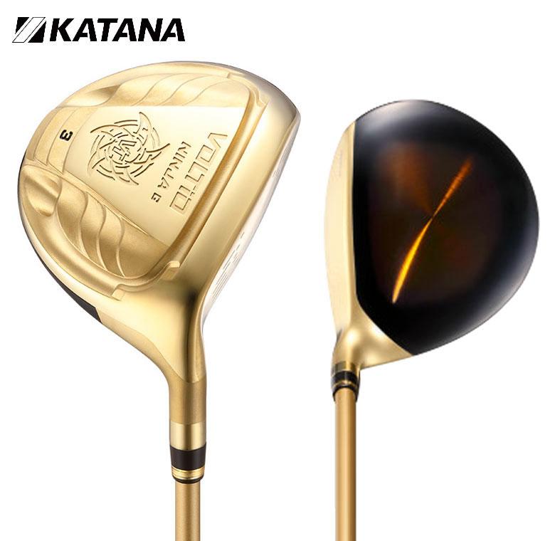 カタナゴルフ ボルティオ ニンジャ 880Hi G ゴールド フェアウェイウッド GOLD KATANA GOLF VOLTIO NINJA FAIRWAY シニア