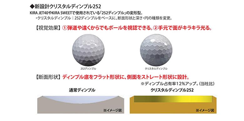キャスコ ゴルフボール