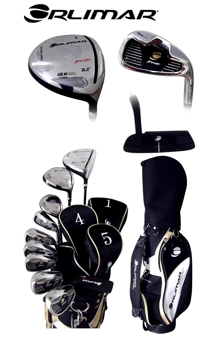 オリマー ゴルフ 1W,4W,U5,#6-P ゴルフクラブセット 10本組 キャディバッグ付き