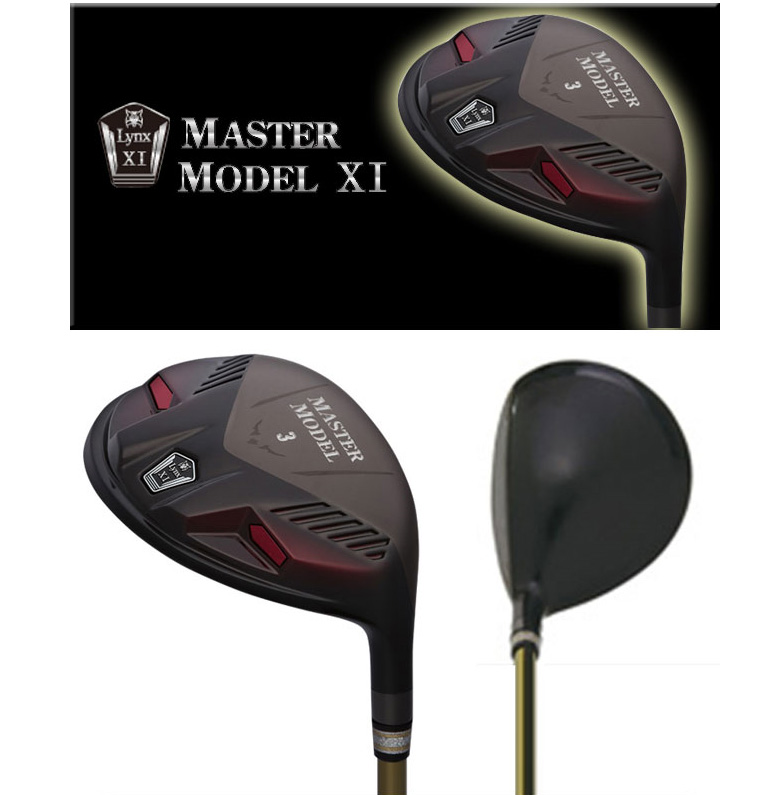 リンクス ゴルフ マスターモデル XI ブラック フェアウェイウッド ロイヤルカーボンシャフト Lynx Master Model Royal