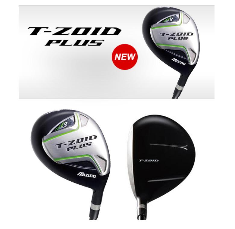 ミズノ ゴルフ T-ゾイド プラス フェアウェイウッド T-ZOID PLUS オリジナルカーボンシャフト MIZUNO T-ZOID PLUS
