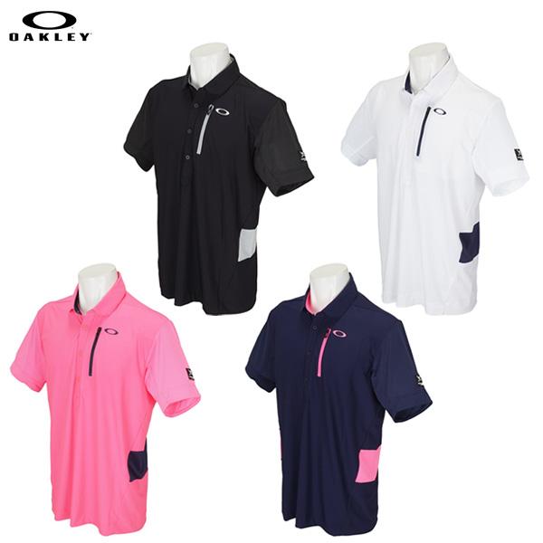 e8f83435 【送料無料】 オークリー ゴルフ 434397JP スカル INTREPID メッシュ ポロシャツ OAKLEY SKULL INTREPID  MESH SHIRTS|アトミックゴルフ(公式通販)