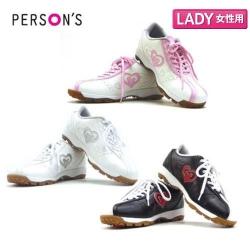 18544a371c9eb0 【レディース】 パーソンズ ゴルフ ソフトスパイク PGS-2011 ゴルフシューズ